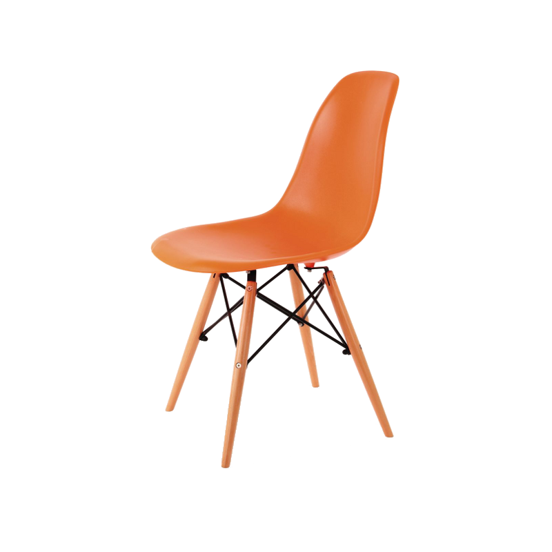 chaises scandinaves orange zo atout mobilier. Black Bedroom Furniture Sets. Home Design Ideas