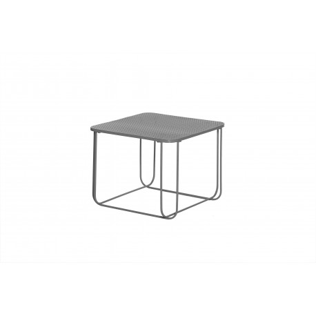 Table d'appoint en métal gris anthracite Filo