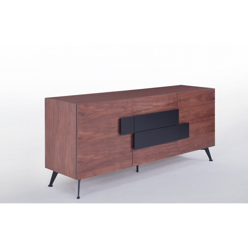 buffet bahut contemporain luz bois massif atout mobilier. Black Bedroom Furniture Sets. Home Design Ideas