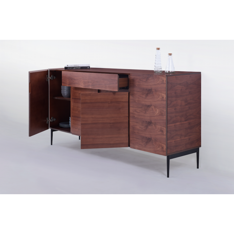 buffet bahut contemporain tonil bois massif atout mobilier. Black Bedroom Furniture Sets. Home Design Ideas
