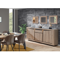 Buffet bahut contemporain french oak Niel