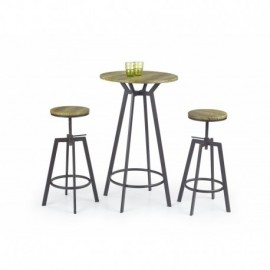 Table de bar industrielle Vicky
